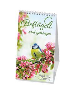 Beflügelt und geborgen 2022 - Postkartenkalender