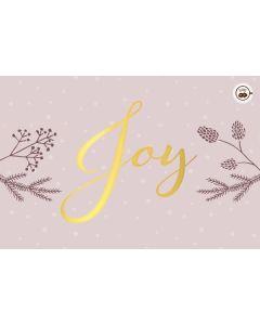 Schokokarte - Joy