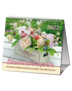 Blumenbouquets 2022 - Tischkalender
