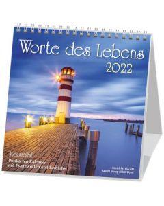 Worte des Lebens 2022 - Postkartenkalender