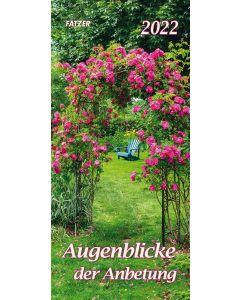Augenblicke der Anbetung 2022 - Postkartenkalender