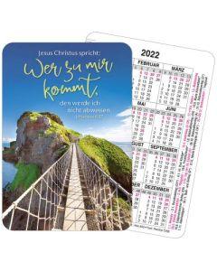 Jahreslosung 2022 - Spielkartenkalender