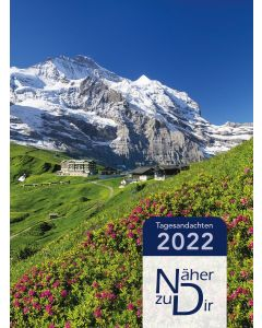 Näher zu Dir 2022 - Buchkalender Motiv Bergsommer