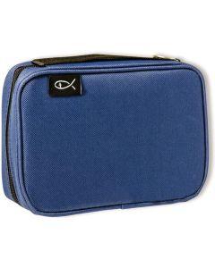"""Bibel-Tasche """"Fisch"""" klein - blau"""