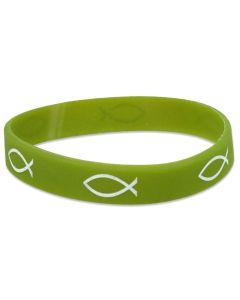 Gummiband Fisch grün