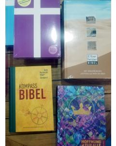 Bibeln in Kommission für Büchertische