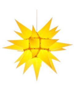Herrnhuter Stern - Papier - gelb - ab 40 cm