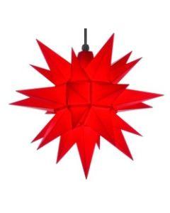 Herrnhuter Stern - Kunststoff - rot - ab 40 cm