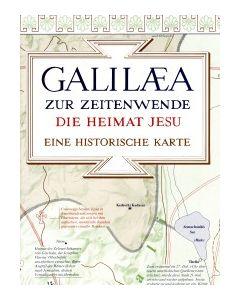 Galiläa zur Zeitenwende - Historische Karte