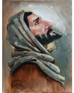 Jesus blickt hoch