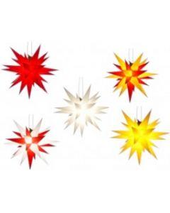 Herrnhuter Stern - Kunststoff - 13 cm - Farbe wählen