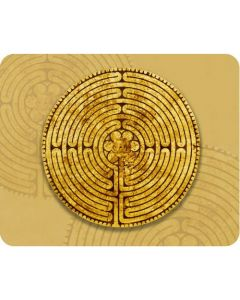 Mousepad Labyrinth von Chatres